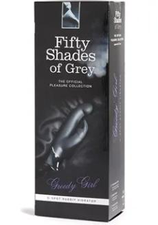 Fifty Shades of Grey Greedy Girl G-Spot Rabbit Vibrator
