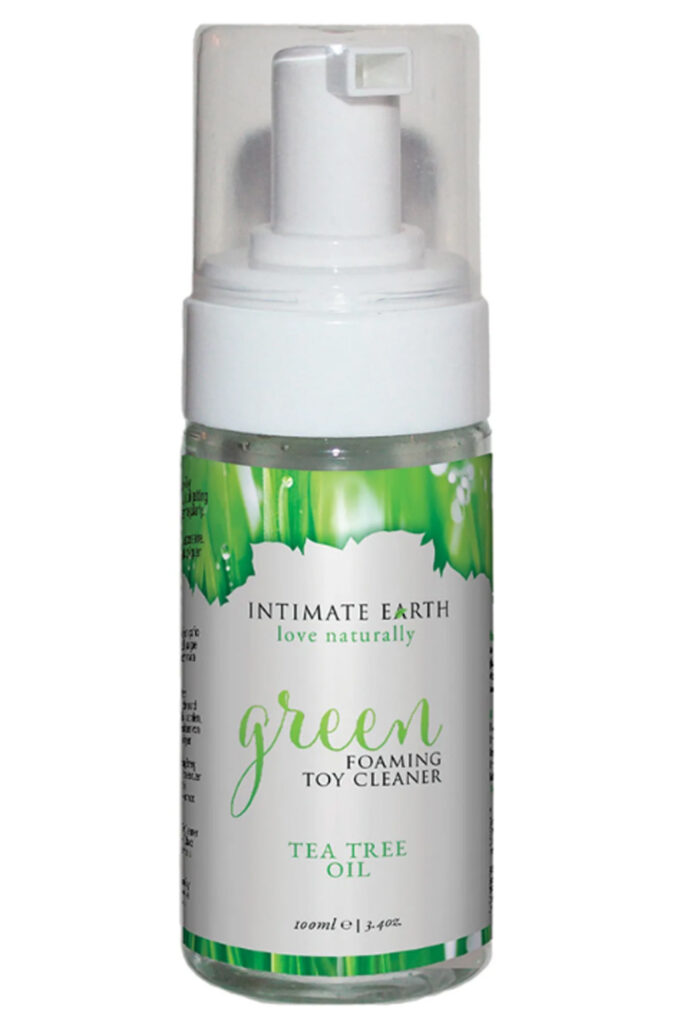 Intimate Earth Green-Tea Tree Oil Foaming Toy Cleaner