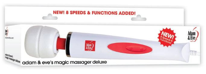 Adam & Eve Magic Massager Deluxe 8x